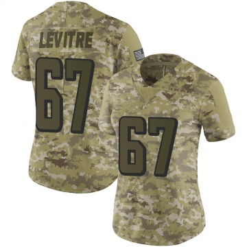 Women's Andy Levitre Atlanta Falcons Nike Limited 2018 Salute to Service Jersey - Camo