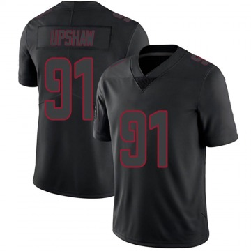Youth Courtney Upshaw Atlanta Falcons Nike Limited Jersey - Black Impact