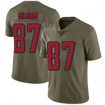 Youth Jaeden Graham Atlanta Falcons Nike Limited 2017 Salute to Service Jersey - Green